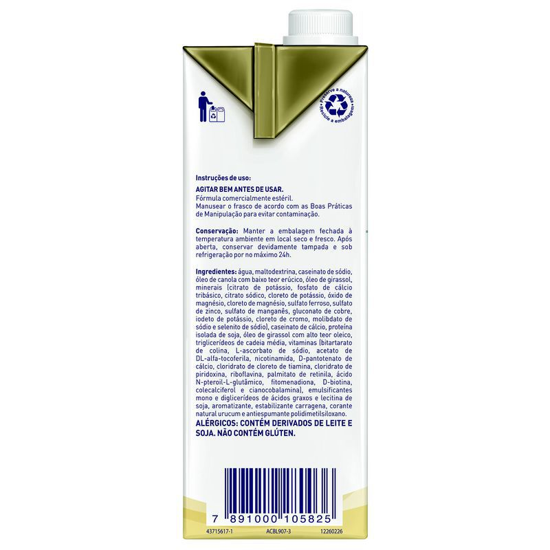 Novasource Senior Tetra Square - 1L - (Nestle)