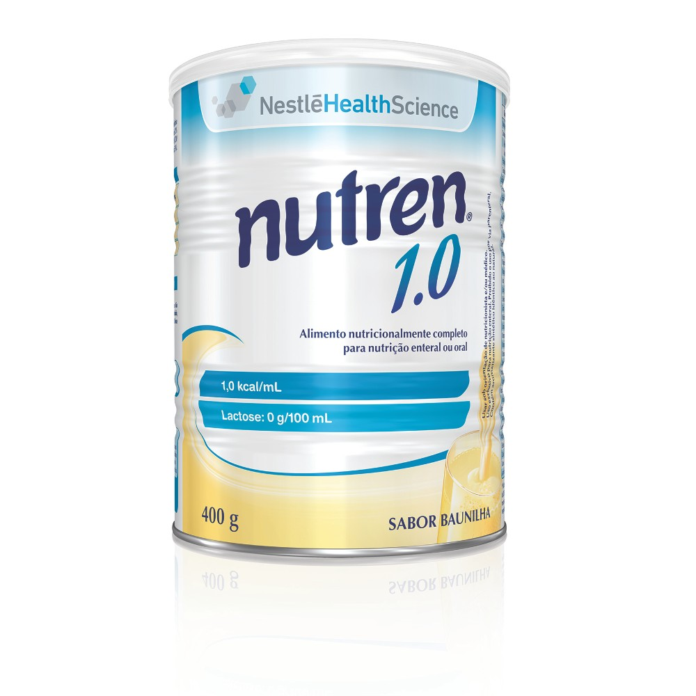 Nutren 1.0 Baunilha - 400 g - (NESTLE)
