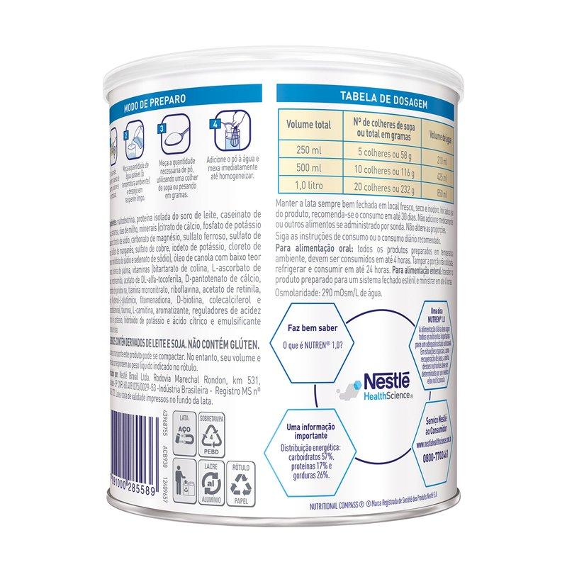 Nutren 1.0 Baunilha - 400g - (Nestle)