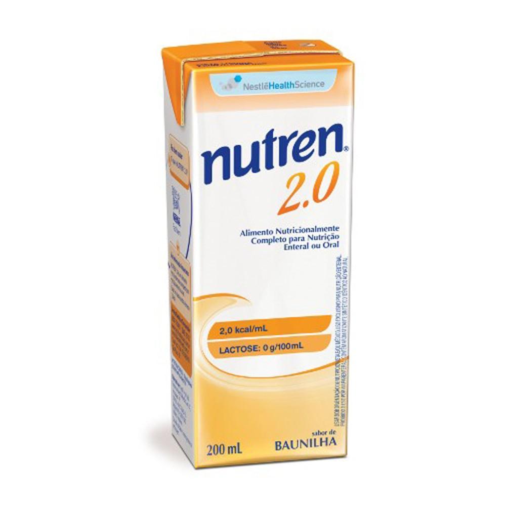 Nutren 2.0 Baunilha - 200 mL - (NESTLE)