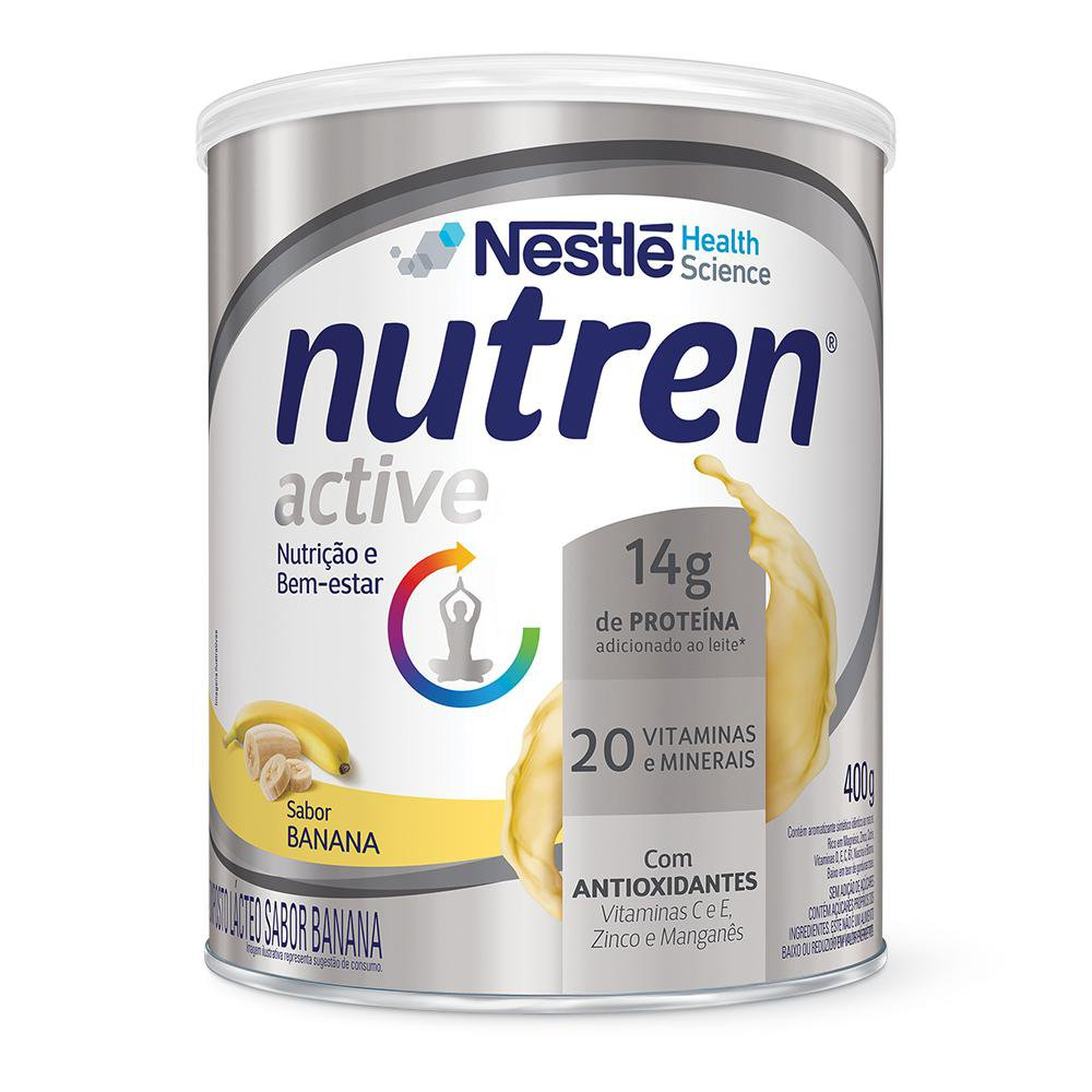 Nutren Active Banana - 400g - (Nestle)