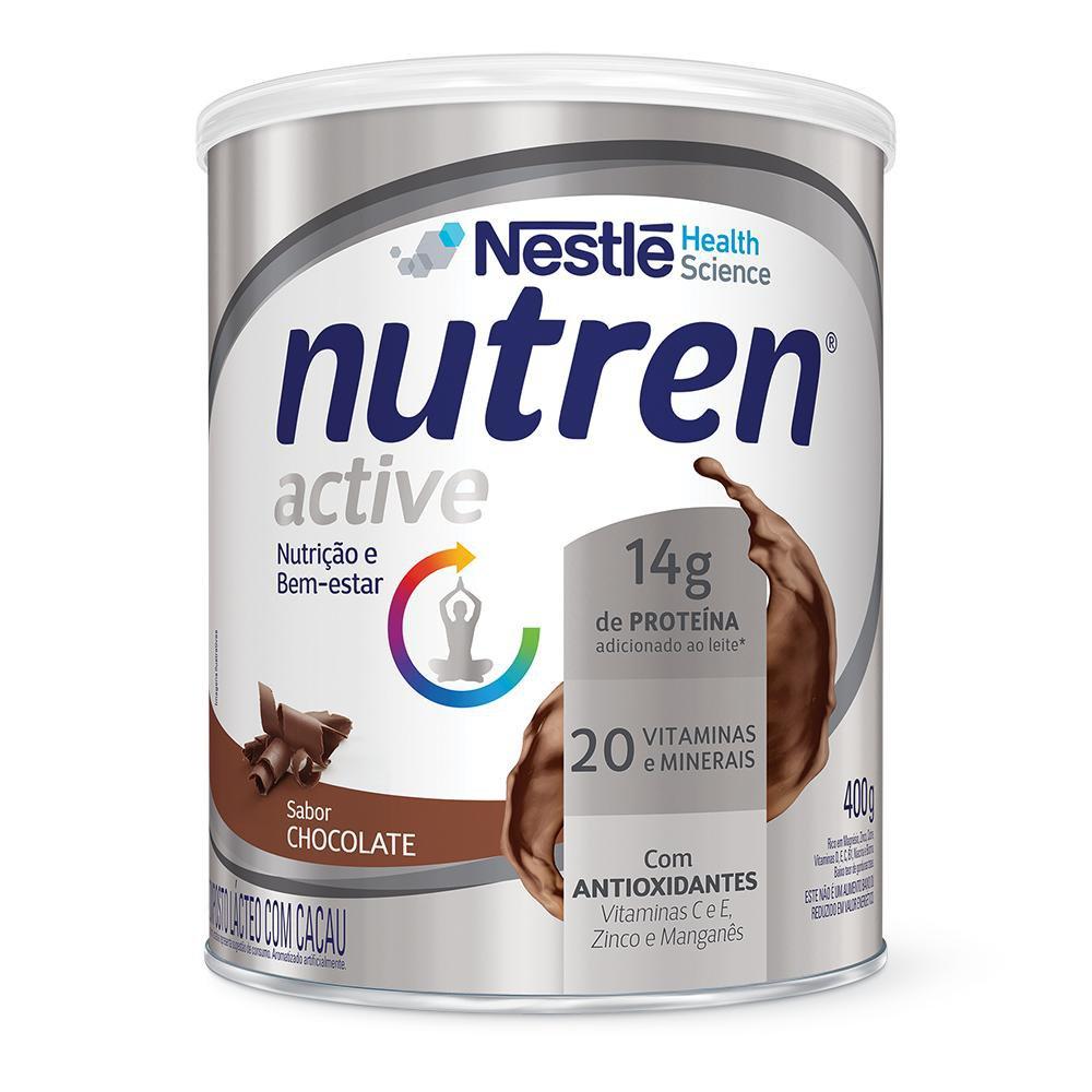 Nutren Active Chocolate - 400g - (Nestle)