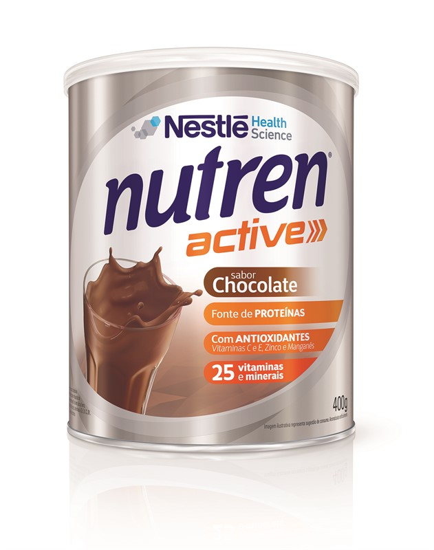 Nutren Active Chocolate - 400 g - (NESTLE)