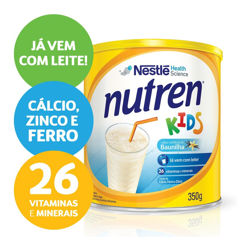 Nutren Kids 350g Baunilha - (Nestle)