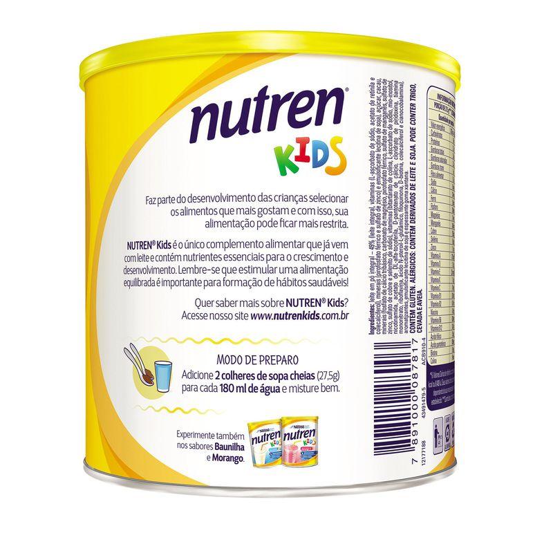 Nutren Kids 350g Chocolate - (Nestle)