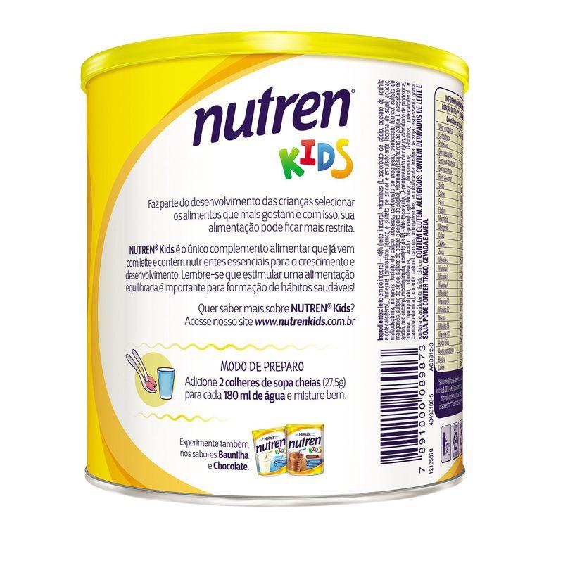 Nutren Kids 350g Morango - (Nestle)