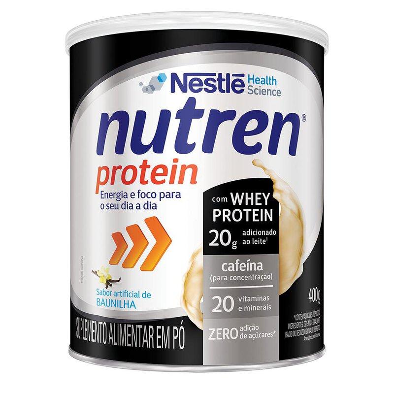 Nutren Protein Baunilha - 400g - (Nestle)