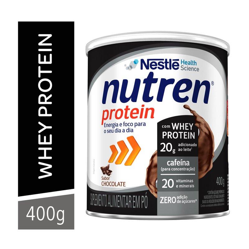 Nutren Protein Chocolate - 400g - (Nestle)