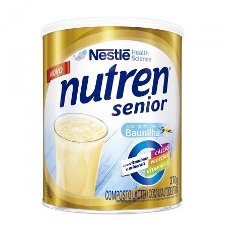 Nutren Senior Baunilha - 370 g  - (NESTLE)