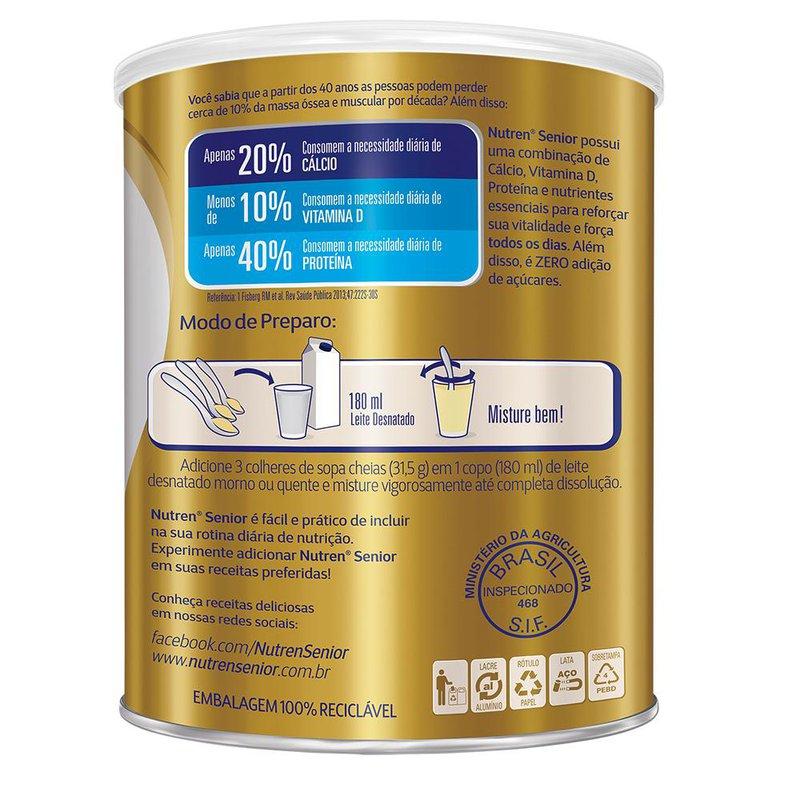 Nutren Senior Baunilha - 740g - (Nestle)
