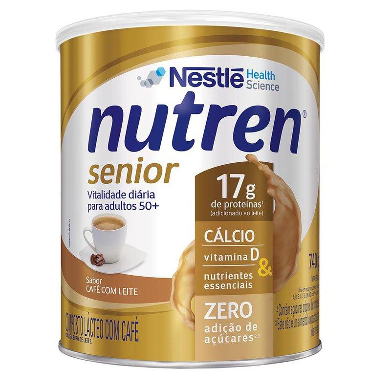 Nutren Senior Café com Leite - 740g - (Nestle)