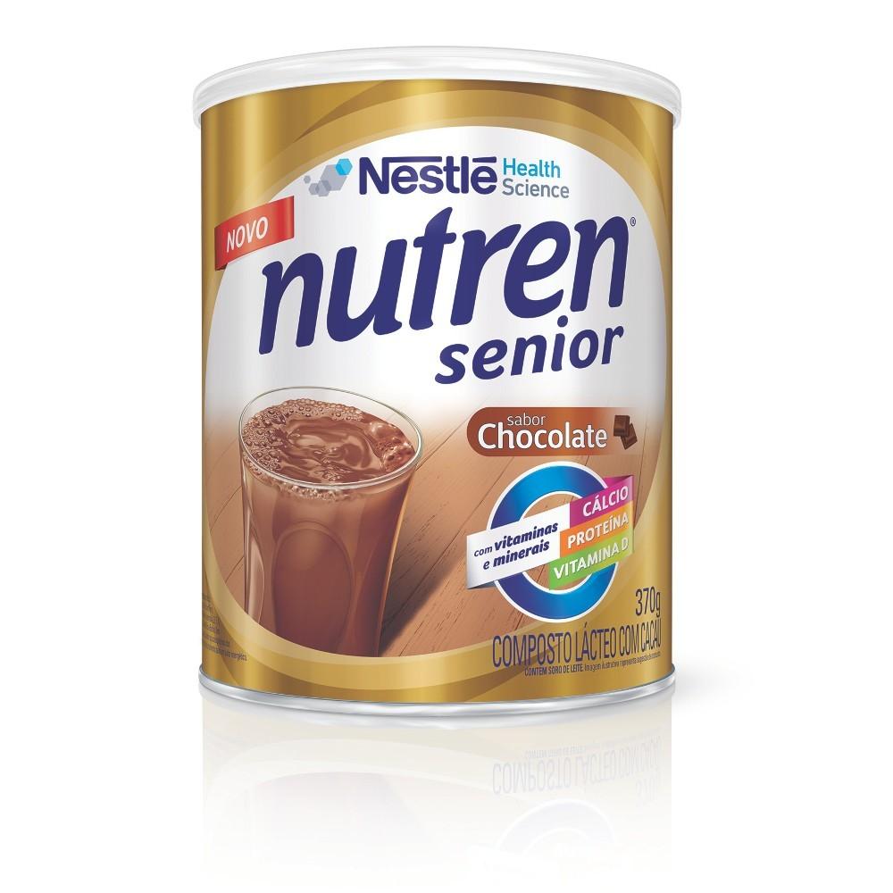 Nutren Senior Chocolate - 370 g  - (NESTLE)