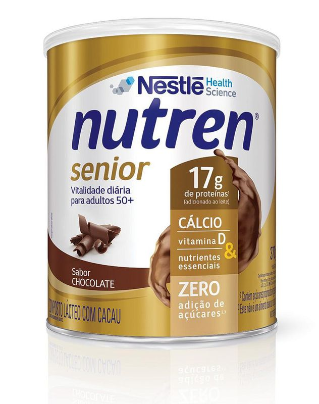 Nutren Senior Chocolate - 370g  - (Nestle)