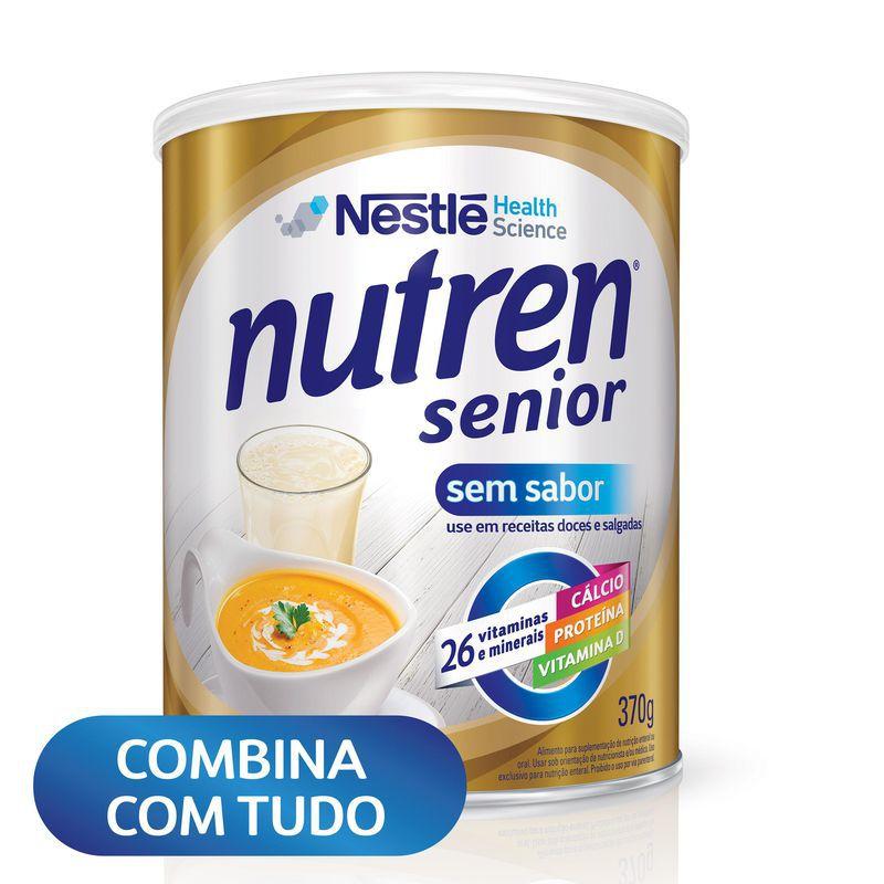 Nutren Senior Sem Sabor - 370 g - (Nestle)