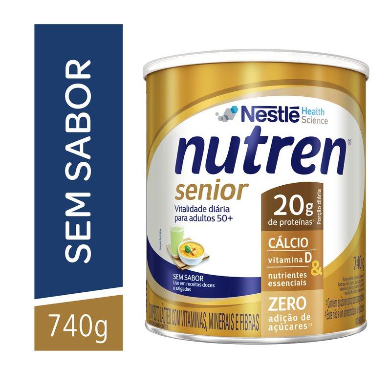 Nutren Senior Sem Sabor - 740g - (Nestle)