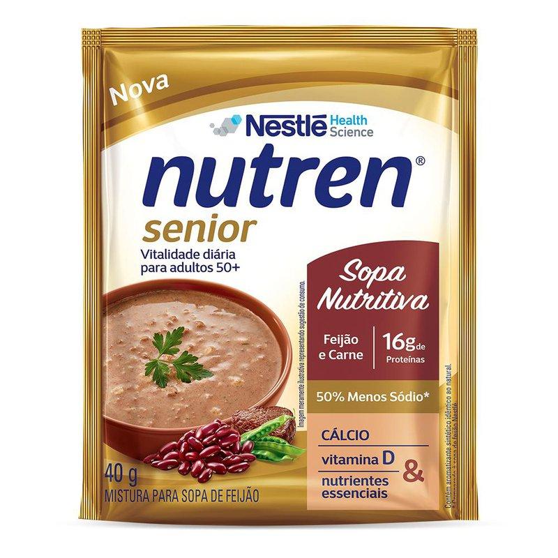 Nutren Senior Sopa Feijão e Carne 40g - (Nestle)