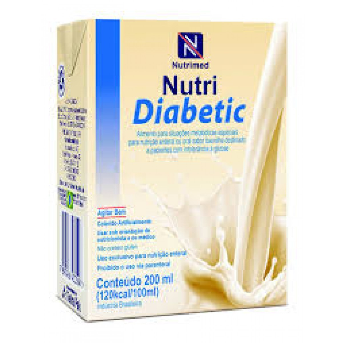 Nutri Diabetic Baunilha - 200 mL - (DANONE)