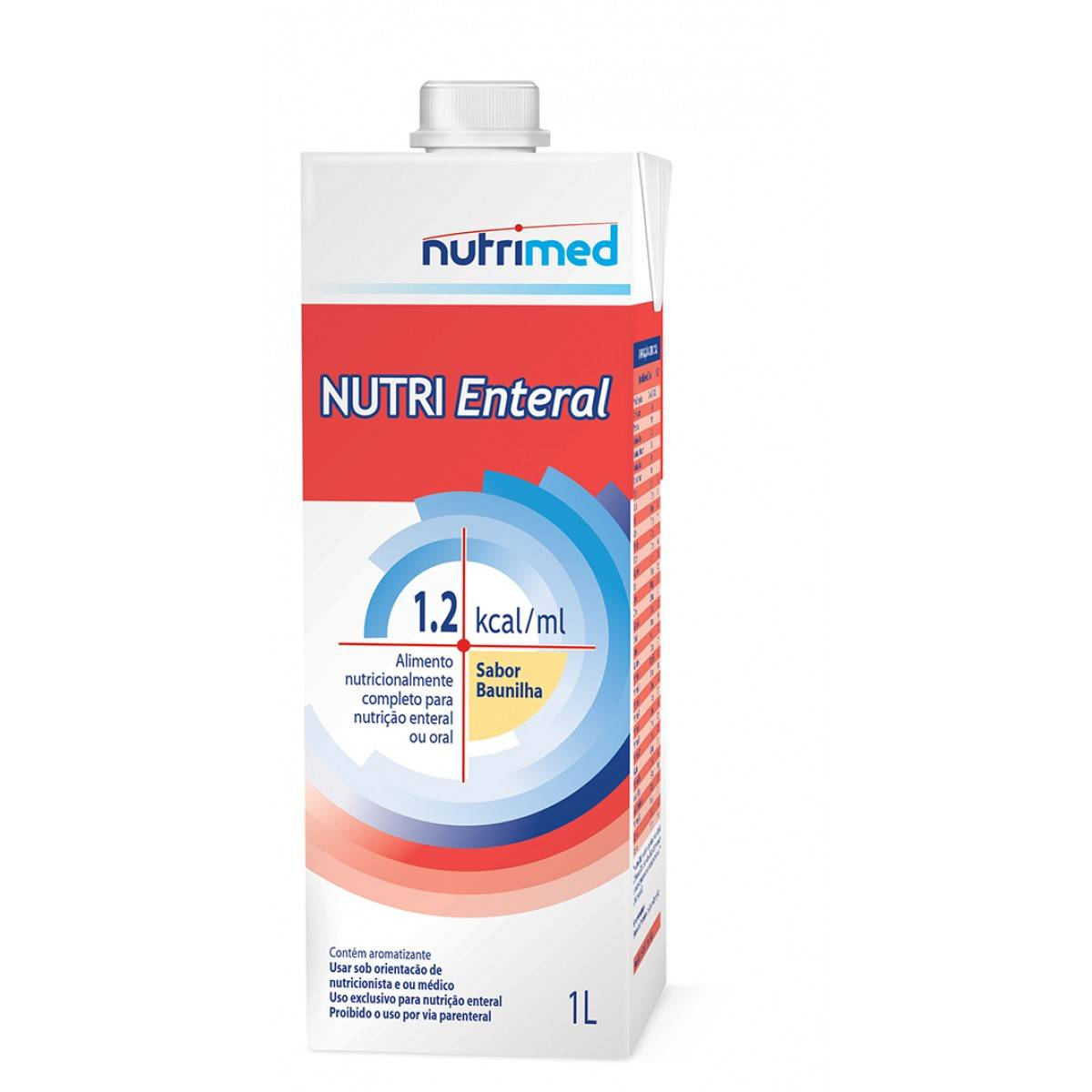 Nutri Enteral  (1.2 Kcal/ml) Tetra Pak - 1 L - (DANONE)