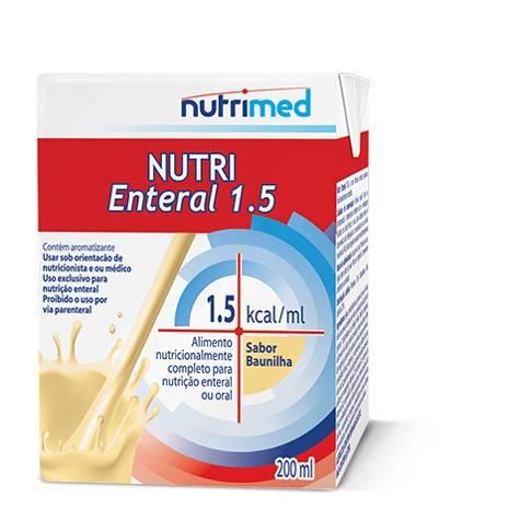 Nutri Enteral 1.5 Baunilha - 200 mL - (DANONE)