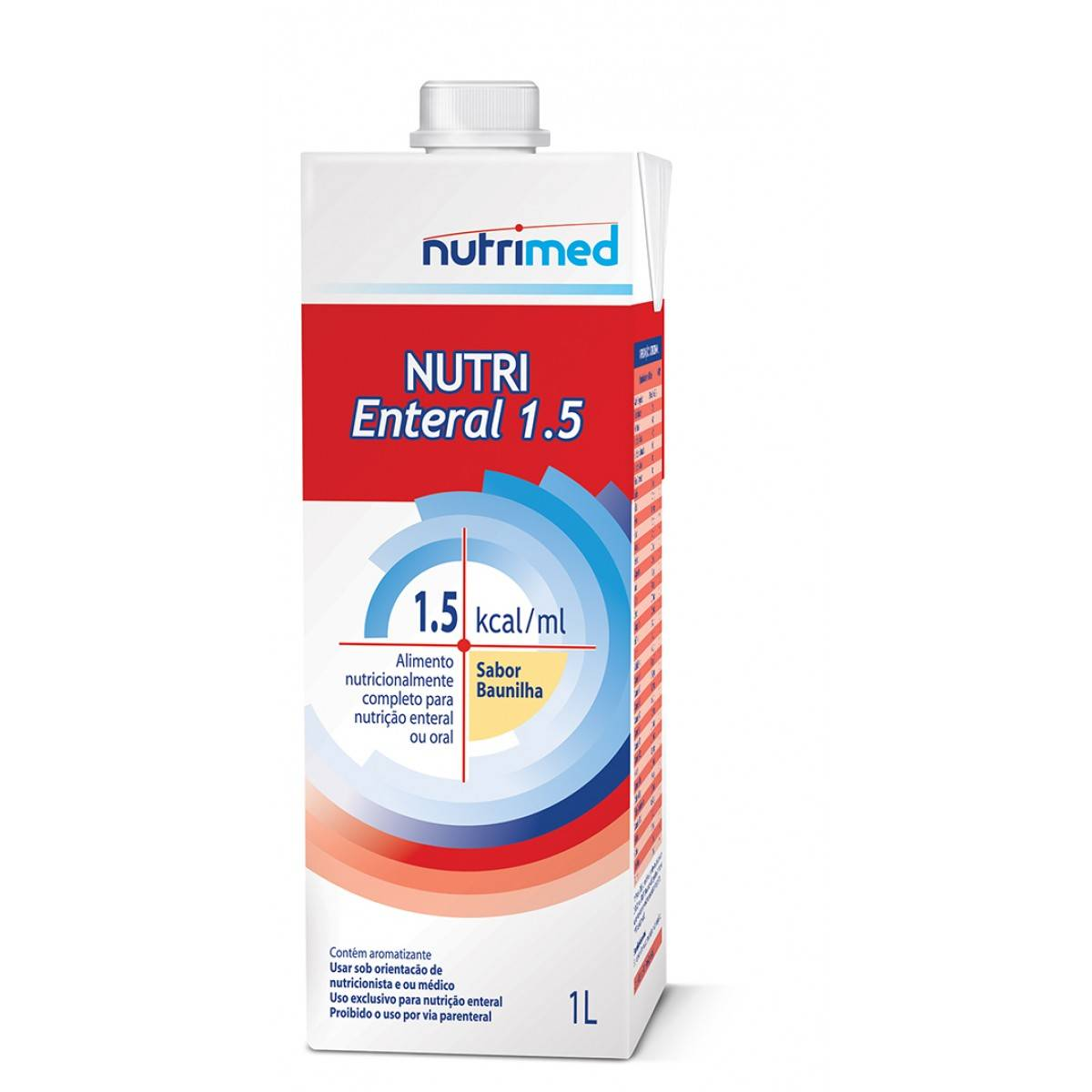 Nutri Enteral  (1.5 Kcal/ml) 1L tetra pak - (Danone)