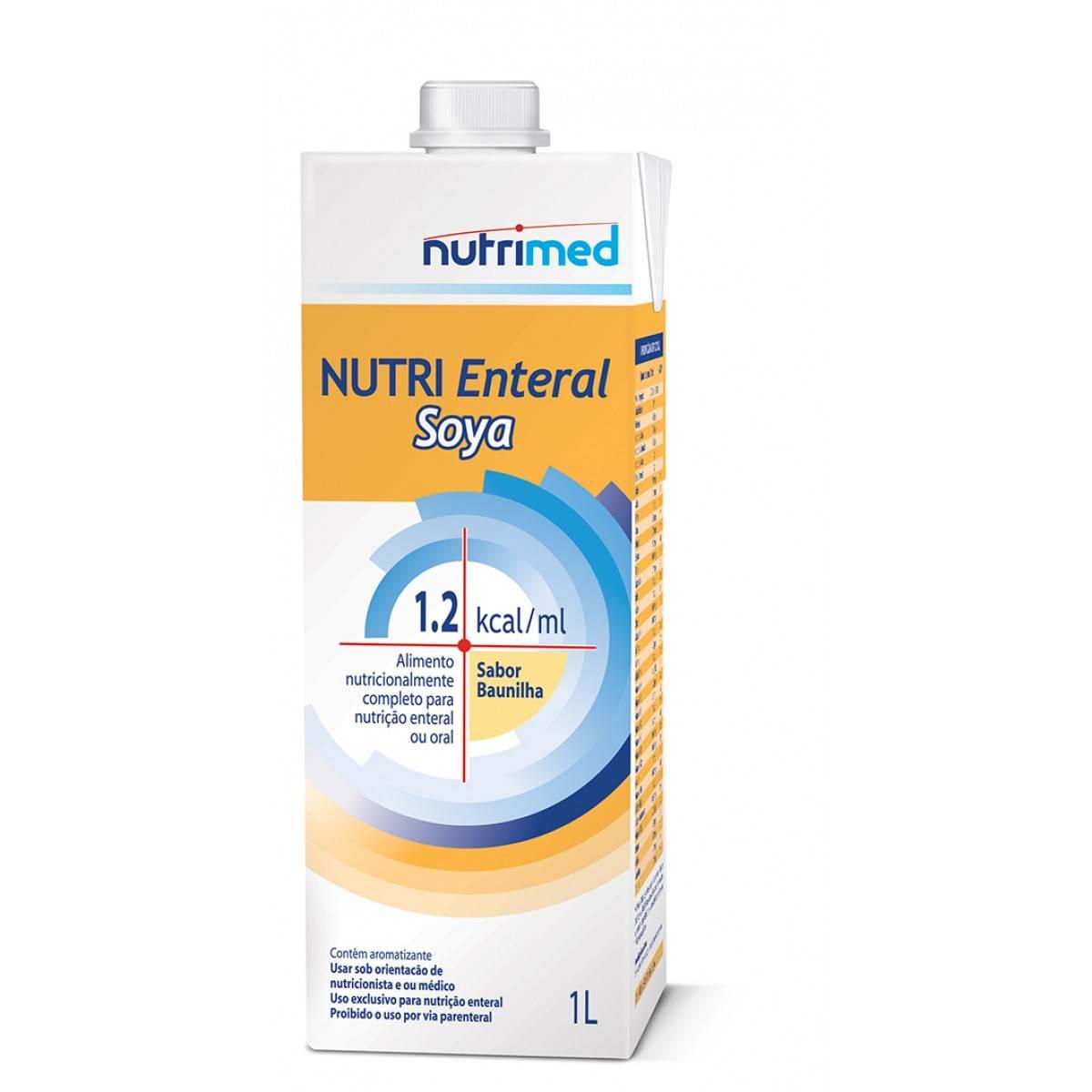 Nutri Enteral Soya Tetra Pak - 1 L - (DANONE)