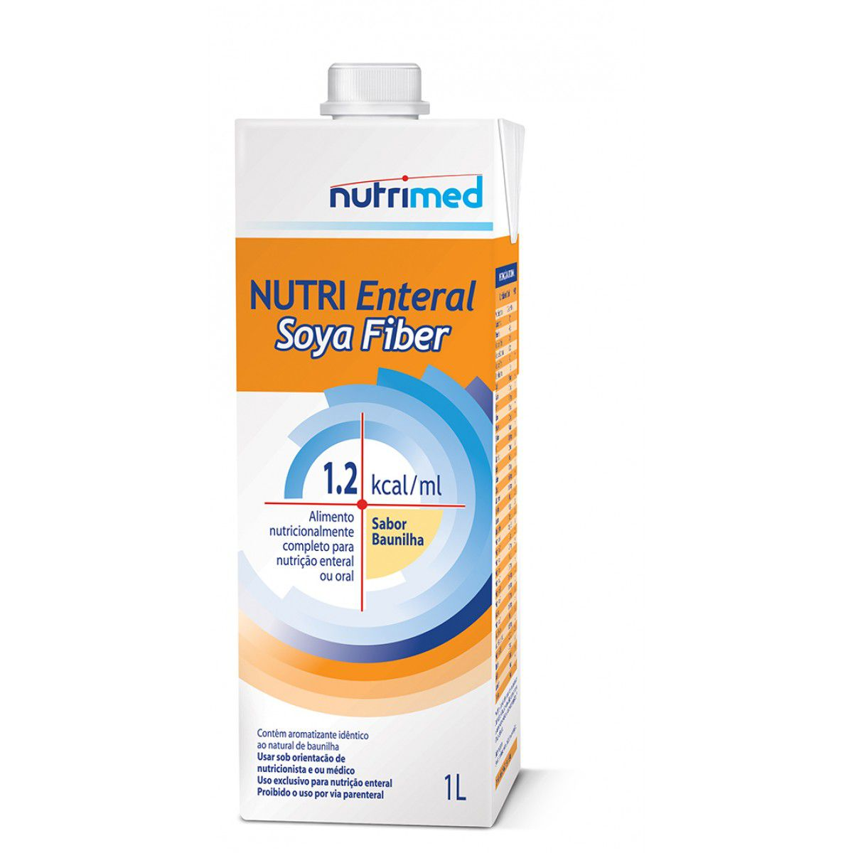 Nutri Enteral Soya Fiber Tetra Pak - 1 L  - (Danone)