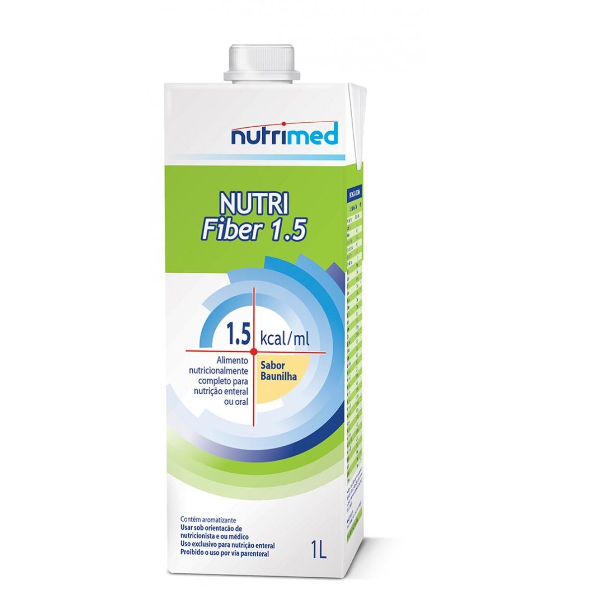 Nutri Fiber 1.5 (1.5 kcal/ml) Tetra Pak - 1 L - (DANONE)