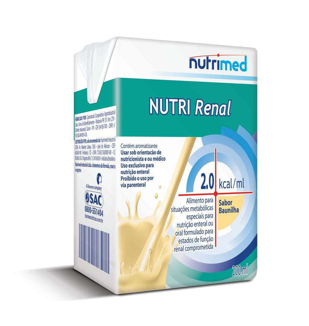 Nutri Renal Baunilha - 200mL - (Danone)