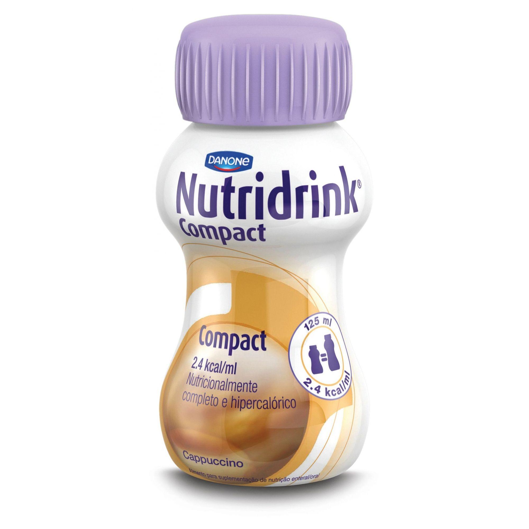 Nutridrink Compact Cappuccino - 125 mL - (DANONE)