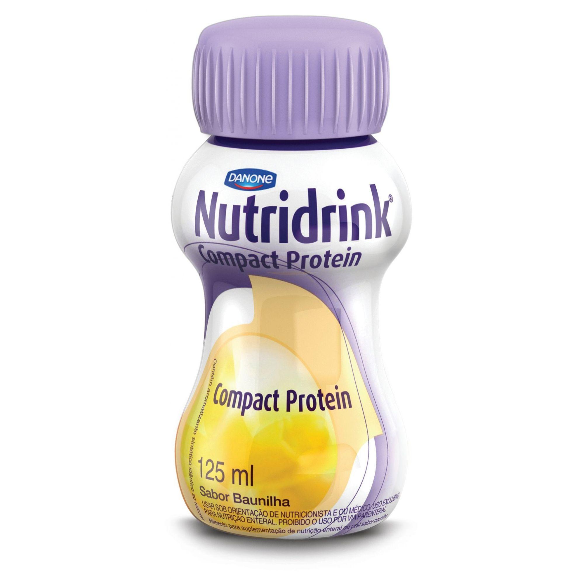 Nutridrink Compact Protein Baunilha - 125mL - (Danone)