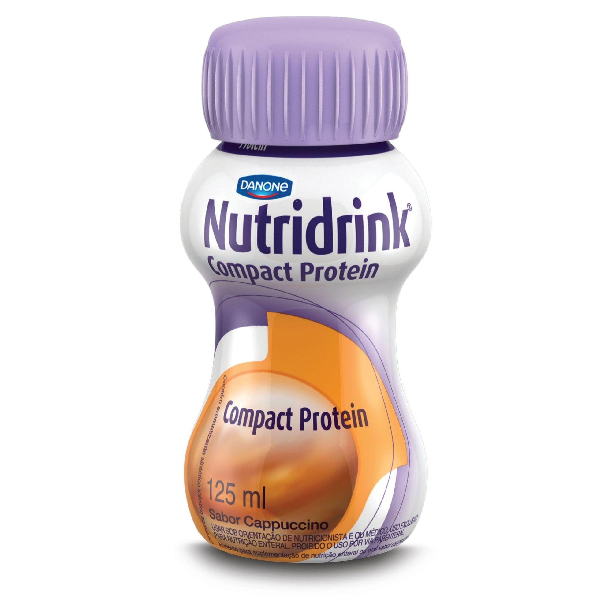 Nutridrink Compact Protein Cappuccinno - 125 mL - (DANONE)