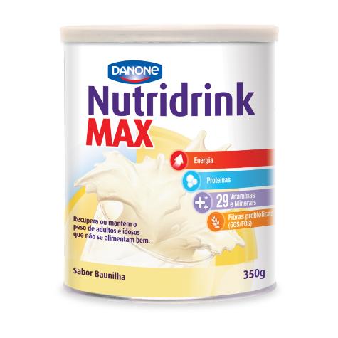 Nutridrink Max Baunilha - 350 g - (DANONE)