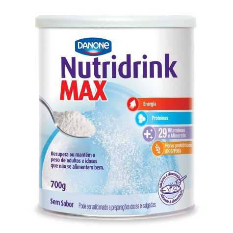 Nutridrink Max Sem Sabor - 700 g - (DANONE)