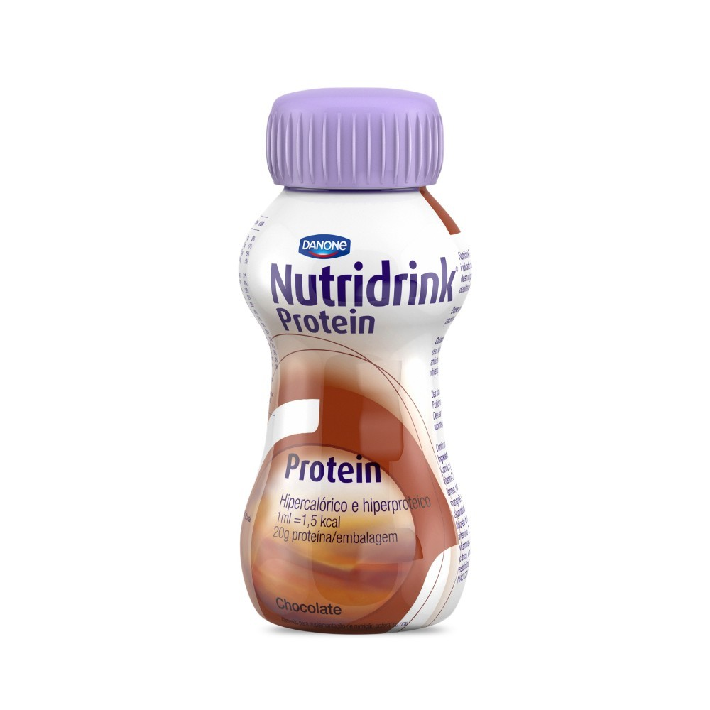 Nutridrink Protein Chocolate - 200mL - (Danone)