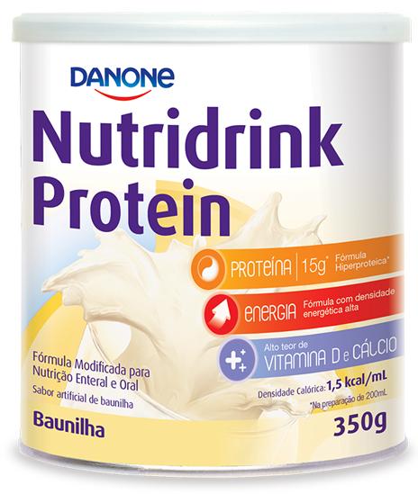 Nutridrink Protein Baunilha - 350g - (Danone)