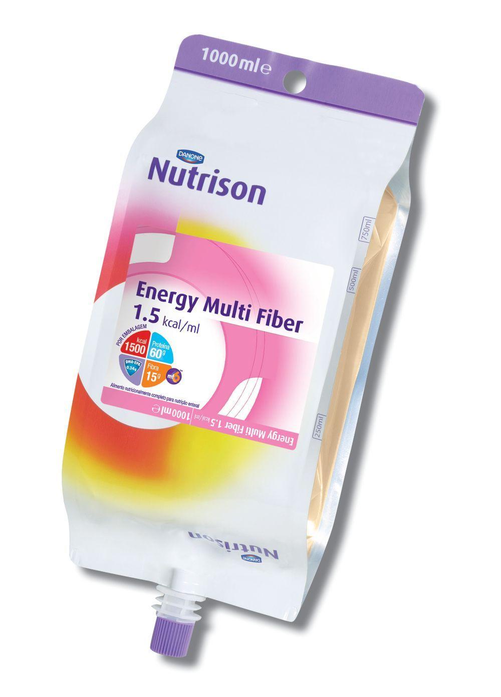Nutrison Energy Multi Fiber Pack - 1 L - (Danone)