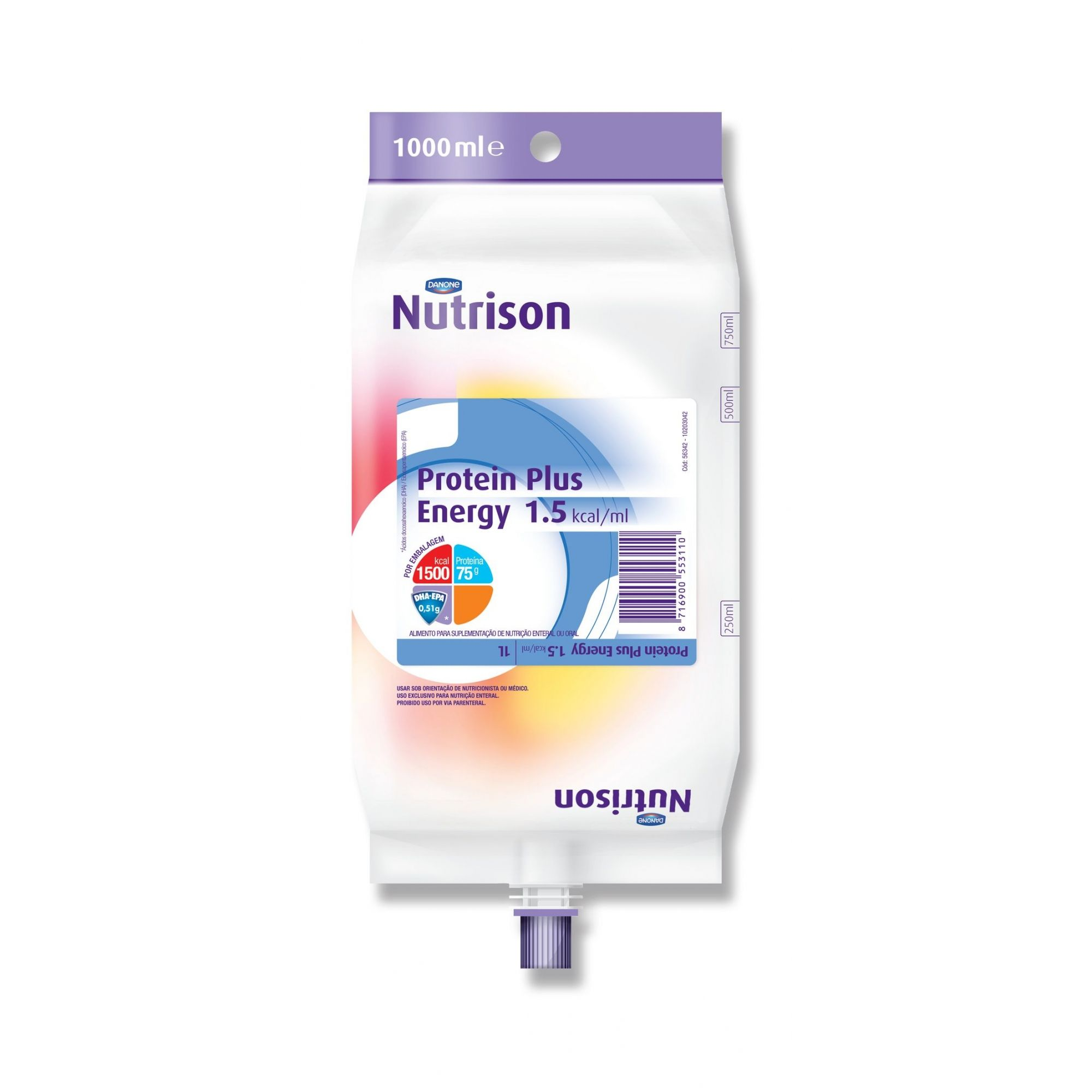 Nutrison Protein Plus Energy Pack - 1 L - (DANONE)