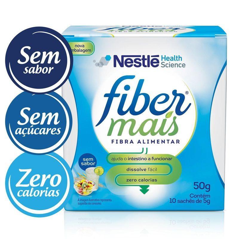 FiberMais® - Display com 10 sachês de 5g Cada - (Nestle)