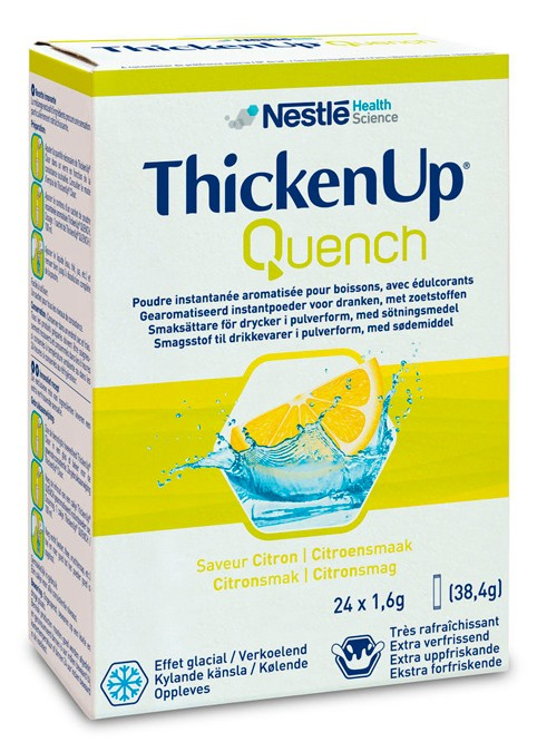 ThickenUp Quench - Display com 24 sachês de 1,6g cada - (NESTLE)