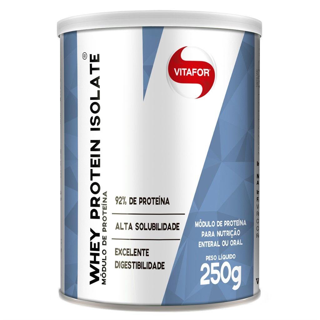 WHEY PROTEIN ISOLATE 250G - (Vitafor)