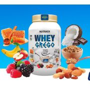 Whey Grego Natural - Nutrata - 900gr