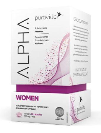ALPHA WOMEN - 60 CAPS - PURAVIDA