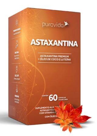 ASTAXANTINA - 60 CAPS - PURAVIDA