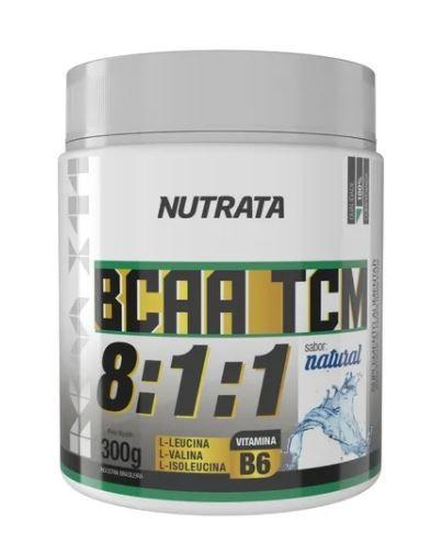 BCAA TCM 8:1:1 - NEUTRO - 300G - NUTRATA