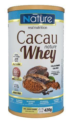 CACAU WHEY 55% - 420G - NATURE