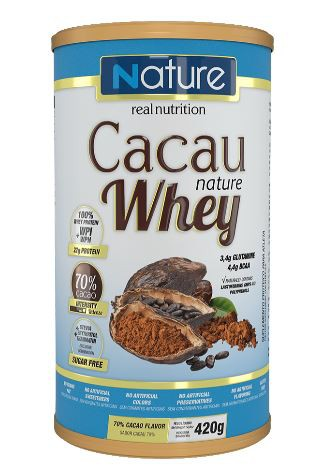 CACAU WHEY 70% - 420G - NATURE