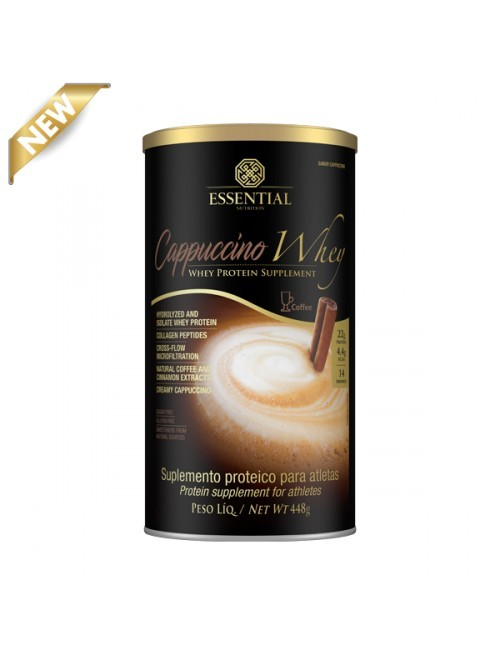 CAPPUCCINO WHEY - 448g - ESSENTIAL