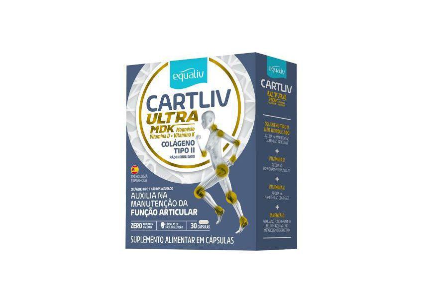 CARTILIV ULTRA MDK - 60 CÁPSULAS - EQUALIV