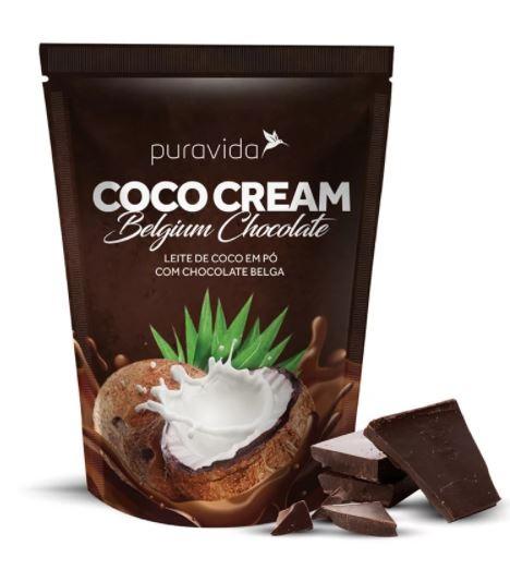 COCO CREAM BELGIUM CHOCOLATE - 250G - PURAVIDA