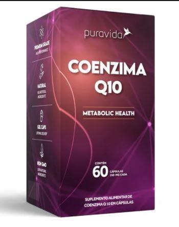 COENZIMA Q10 - 60 CAPS - PURAVIDA